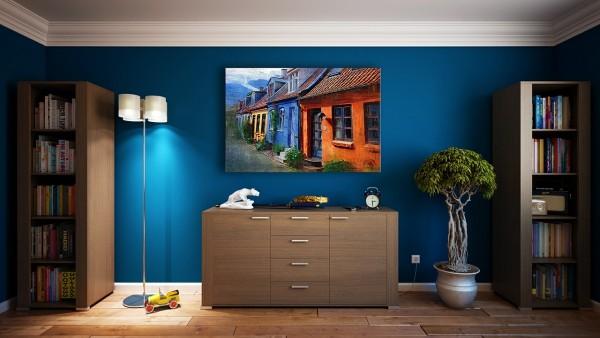 dipingere le pareti di casa tendenze 2015 blu