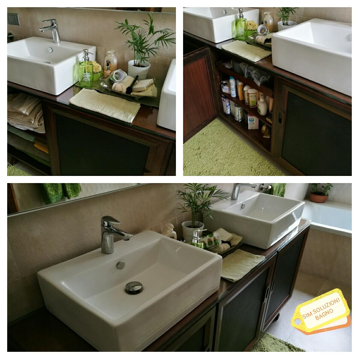 Idee d arredo per il bagno come sfruttare il riciclo for Riciclo arredo casa