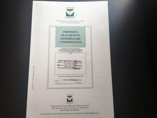 Proposta d acquisto condizionata all 39 ottenimento del mutuo - Proposta acquisto casa ...