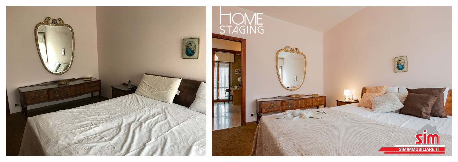 Home staging Novara